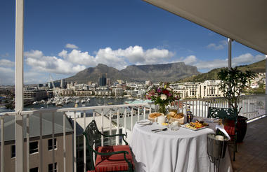 Imperial Suite view of Table Mountain